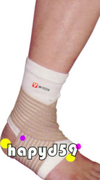 Wholesale free ship ankle support winding elastic bandage badminton basketball tennis sport protectors
