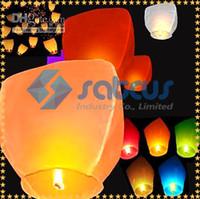 cadeau Kongmingdeng Colorful SKY LANTERNS chinois Fay Christmas Balloon - Souhaitant lampe / Sky Lanternes