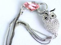animal retail store - Retail SWARO Pendant Necklace luxurious Owl Pendant jewelry Animal Jewelry Store pc lo Mix Color