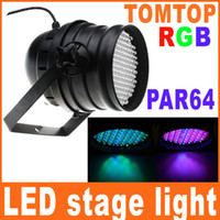Wholesale 151 LEDs RGB led Light stage PAR DMX Lighting DJ Laser Projector Stage Party Show Disco H8493