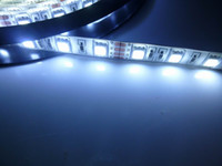 Wholesale Xenon White LED Strip M Bright SMD Water proof Flexible Strip LED Light DC V