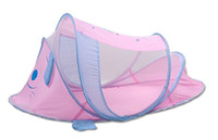 Wholesale 5pcs Portable Foldable Baby Safety Mosquito Net Cute Pink Dog Mosquito Net For Baby Night Sleep