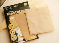 Wholesale new hot bakery packaging bag reusable toaster bag bread bag snack bags DHL