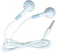 Wholesale 500pcs DHL free Cheapest earphone headset for ipod mp3 mp4 phone mm In Ear Headphon