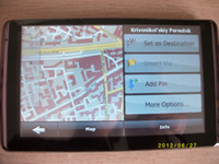 Wholesale 5 inch Car GPS Navigator GPS Tracker Resolution x480 FM MP3 GB Free load Latest Maps