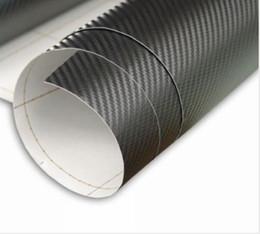 Wholesale 3D body kits fiber vinyl wrap carbon fiber sticker car wrap vinyl film with air free bubbles