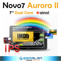 Wholesale Manufacturer price Android Ainol Novo ELF II Cortex A9 Dual Core Tablet PC
