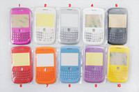 Wholesale Full Housing Cover Case for BlackBerry with Front Cover Lens Qwert Battery Cover