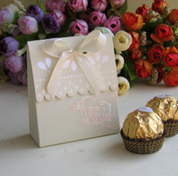 Wholesale Bridal and Groom for favor boxes wedding gifts boxes Wedding shower favors Chocolate Boxes BK02