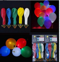 Wholesale Freeshipping Flying Flashing LED latex balloon for party decroation