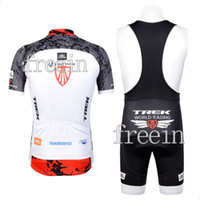 Wholesale 5pcs Trek Good Quality Best Selling Bicycle Jersey Bib Short Set Cycling Wear Bike clothes