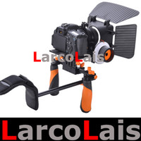 Wholesale Aputure DSLR VCR Rig Shoulder Mount Follow Focus Matte Box Movie Kit for Canon D Mark II Nikon