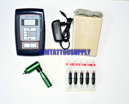 Wholesale tattoo kit with digital power supply and high quality rotary tattoo machine