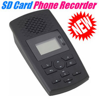 Wholesale SD Card Family Telephone Voice Recorder With Answering AR120 Machine
