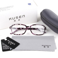 Wholesale Tide Kusen Classica Unisex spectacle frames plain mirror glasses decorated retro non mainstream