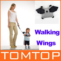 Wholesale Baby carrier Kid Toddler Safety Harness Strap Bat Bag Anti lost Walking Wings backpack H8668