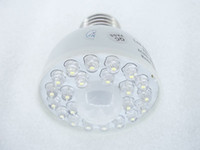 Wholesale DIP w leds motion sensors led energy saving light Human sensor lights led bulb LED SENSOR LAMP