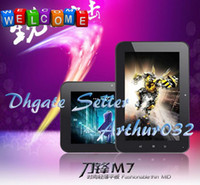 Wholesale Fashion AOSON M7 Android Tablet PC RK2906 MB DDR3 GB USB G Flash Player D Game Epad