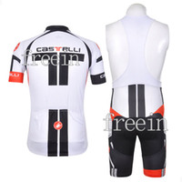Wholesale BIB COOLMAX Polyester castelli Cycling wear bicycle apparel bike jersey shorts