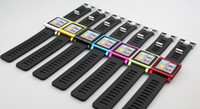 Yes Metal For iPod Nano Aluminum LunaTik Watch Kits Band Wrist Strap Tiktok Watch for 6.(6pcs lot).