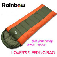 Wholesale 3 seasons and use sleeping bag double fleece outdoor sleeping bag envelope sleeping bag