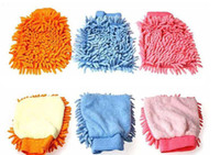 Wholesale Car Glove Cleaning Cloth Towel Easy To Wash Dry free via EMS