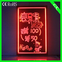 Wholesale 36 Flashing led display screen neon signs led writing board CX cm