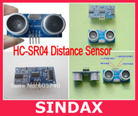 Wholesale 5pcs Ultrasonic Module HC SR04 Distance Measuring Transducer Sensor for Arduino