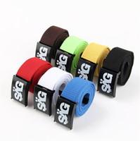 Standard web belt - HOT CANVAS WEB BELTS SAG Belt Candy COLOR Canvas Military Web Style Belt Waist Unisex Belts