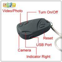 Wholesale USB Spy Cam Car Remote Key Chain Mini Camera Video Recorder DVR DV Mini DV Camera