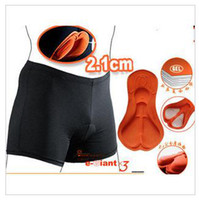 Wholesale Cycling shorts Cycling pad Bike Short Pants base shorts Soft D Pad With Layers
