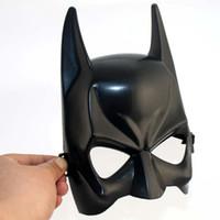 Easter adult novels - W51 love novel costume party mask Halloween mask half a face mask batman pvc material