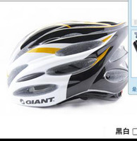 Wholesale Black and white color new style Giant UNICASE Bicycle PVC Helmet Safety Cycling Helmet
