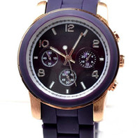 Wholesale 10pcs luxury women watches lady silicone watch men leather watch