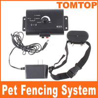Wholesale Smart Pet Dog In Ground Electric Fencing System with receiver Collar for dog Training H1922