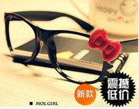 Wholesale Cool Hot New Brand Bow Style Glasses Frame Lovely Fashion Fashion Sunglasses Frames Fashion Accessories
