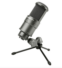Hot selling Takstar SM-8B Side-address Professional recording Microphone for recording Mic LED