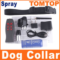 Wholesale 250M Spray Remote Control Dog Training Collar Anti Bark Collars H4385
