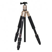 Wholesale Fotopro C4i Gold Stylish Portable Aluminum Magnesium Alloy Tripod with FPH P Ball Head Tripod Kit