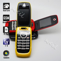 Wholesale New MObile phone quad band with inch screen tv dual sim cards camera I897 WEIL