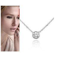 Wholesale brand designer jewelry titanium stainless steel zircon chain necklace choker k gold plated