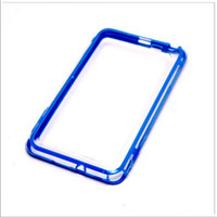 Wholesale TPU soft Silicone Frame Bumper vser hard plastic PC bumpers for Samsung Note I9220 N7000 New