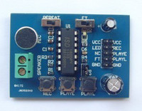 Wholesale Blue PCB Version of The ISD1820 Voice Board Voice Module Sound Recording Module