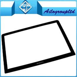 Livraison gratuite pour MacBook Pro Unibody 13 pouces de verre A1278 écran LCD panneau de verre avant