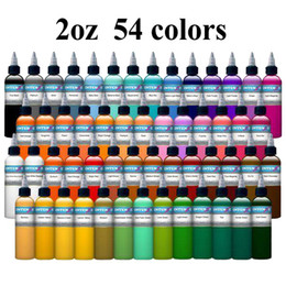 Wholesale New Lable Colors Set Tattoo Ink oz ml Bottle Tattoo Pigment Kit for skin TI302