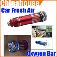 Wholesale 12V Mini Auto Car Fresh Air Purifier Filter Oxygen Bar Ionizer