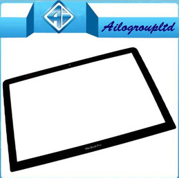 Wholesale For Unibody Macbook Pro quot inch Glass A1286 LCD Screen Front Glass Panel