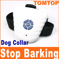 Wholesale Ultrasonic Dog Anti Bark Collar Dog Bark Stop Barking Control Collar H89
