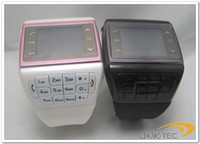Wholesale VE77 Quad band hand written dual card watch phone keypad with wireless bluetooth FM MP3 MP4