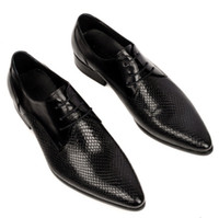 Men Oxfords Spring and Fall free shipping 2014 Fashion unique charm leather british pointed lace business dress shoes